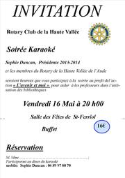 Invitation Karaoké 20132014
